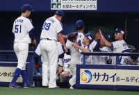 中日・松坂6回1失点の好投「連敗を止める。その気持ちで投げていました」