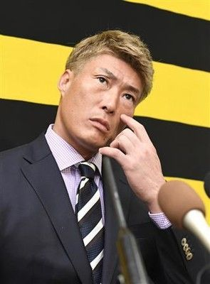 阪神・糸井、現状維持4億円「振り返りたくないシーズン」