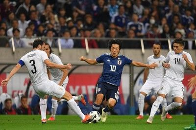 堂安律、ついに代表初ゴール!痛恨ミスから同点も日本が再度勝ち越し