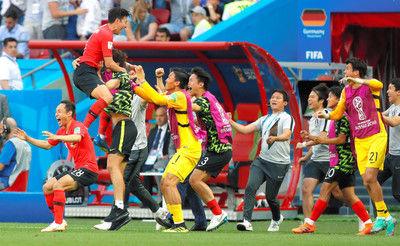 「ドイツ選手、パス入らず怒っていた」韓国、猛攻耐える