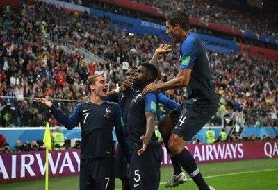 フランスが3大会ぶりの決勝へ!ユムティティの決勝弾でベルギーを下す