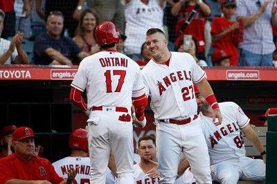 【MLB】大谷&トラウトの初連弾20号にファン歓喜「トラウタ二」「新人王とMVPが連続弾」