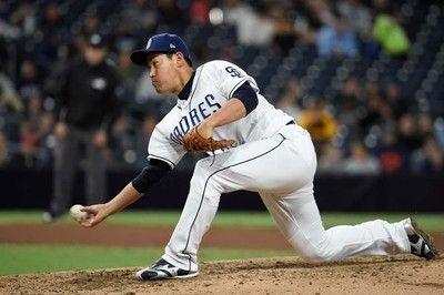 【MLB】牧田和久、メジャー昇格初マウンドで痛恨3ラン被弾同点場面で3点を献上