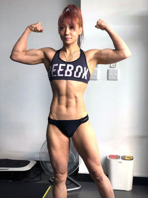 【DEEP JEWELS】渡辺華奈、2019年は「もっと強靭な身体にしたい」