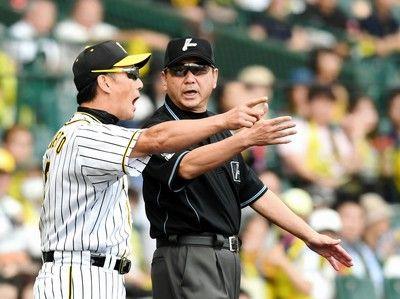 甲子園騒然不可解判定…巨人阿部の打球、塁審アウトのジェスチャーも判定覆る