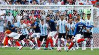 フランス先制もアルゼンチンが追いつき1-1で前半折り返す