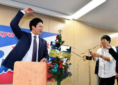 ヤクルト・山田哲、日本人球団最高の4・3億円メジャー挑戦は「シークレット」