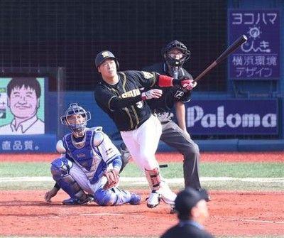 大山覚醒3発7打点、リーグタイ記録の6安打阪神対DeNA