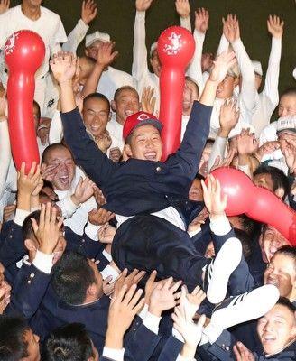 小園獲得の広島、苑田スカウト統括部長「100点。カープ向きの選手多かった」