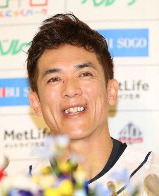 松井稼頭央引退会見松坂と「対戦できて良かった」