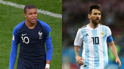 フランスとアルゼンチン、決勝T1回戦の大一番へスタメン発表