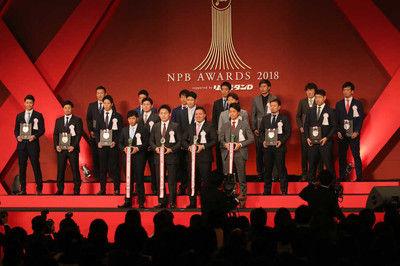 ベストナインの柳田&秋山絶妙やりとりに会場大爆笑「彼ぐらい言葉を選べずに話せたら…」
