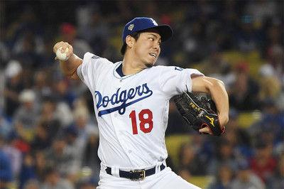 【MLB】前田健太が9回に4点献上…2死満塁の危機で登板も火消し失敗で天を仰ぐ