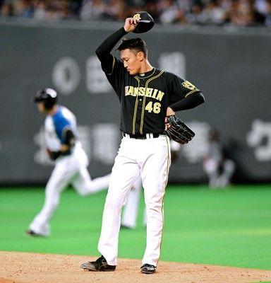 阪神・秋山、自身今季最多の8失点降板