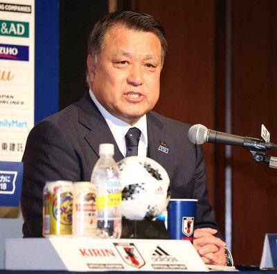 田嶋会長次期代表監督「いろいろな人から売り込み」西野監督続投は「100%ない」