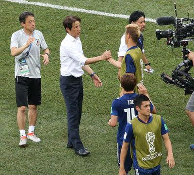 「西野さんは度胸ある」田嶋会長は大胆采配を称える「サッカーはこういうもの」