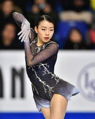紀平梨花V、ザギトワは「もっといい演技してくる」