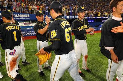 阪神3連勝「勝っている試合を必ずモノに」金本監督