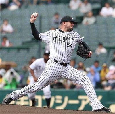 阪神・メッセンジャー、2軍戦で復帰2回無失点でMAX149キロ
