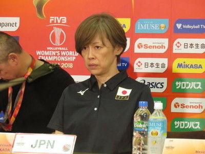 女子バレー中田監督2次Lは「最低でも3勝1敗」