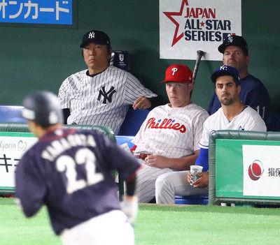 MLB選抜コーチギータ絶賛「メジャーでもやれる」