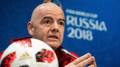2022年カタールW杯は11月~12月の冬開催に…FIFA会長は出場枠48への拡大も示唆