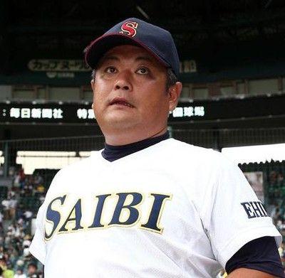 済美・中矢監督「松井の5敬遠」星稜と聖地で初対決