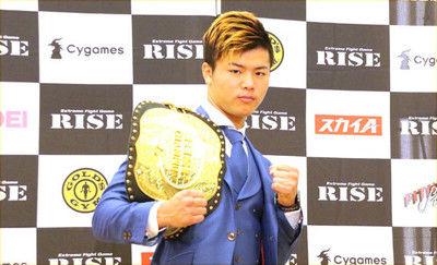 【RIZIN】那須川天心がメイウェザーに宣戦布告「僕をナメるな」