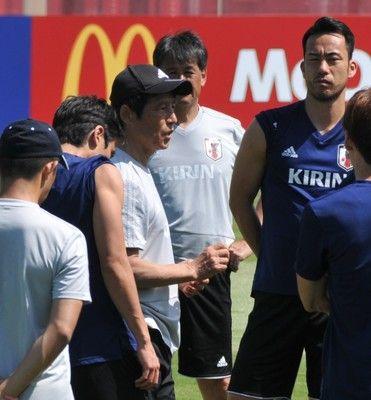 <サッカー日本代表>西野監督ベルギー戦で「お返ししたい」