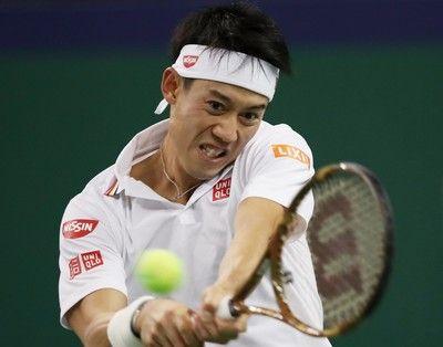 錦織 上海マスターズ7年ぶり8強、元世界11位との熱戦制す<男子テニス>