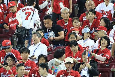 広島ファン「Wの悲劇」に球場内通信が一時不自由に