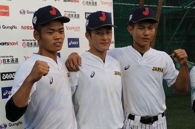 侍U-18代表が始動、金足農・吉田の呼び名は「ヨッシー」根尾と藤原が明かす