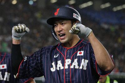 【日米野球】侍ジャパン17安打12得点と圧倒!2戦連発の柳田「ボールをしばいたろうと」