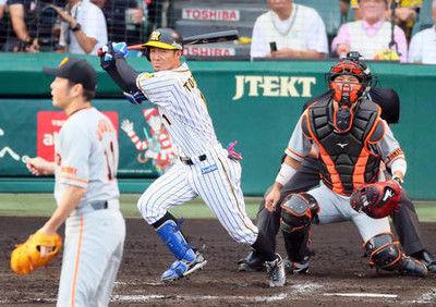阪神鳥谷「また明日」2063安打で球団記録へM1