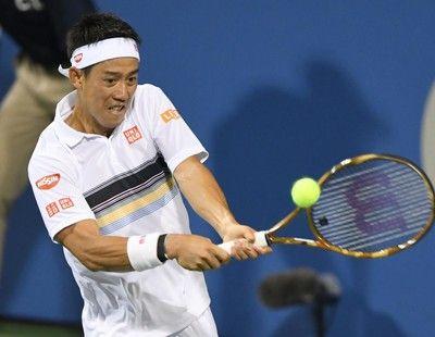 錦織 ストレート勝ちで8強、世界3位ズベレフとの準々決勝へ<男子テニス>
