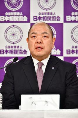 八角理事長「暴力根絶に全力」コンプラ委を設置予定