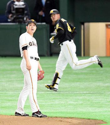巨人菅野悔しさ1敗「阪神打線に意図のある攻撃を」