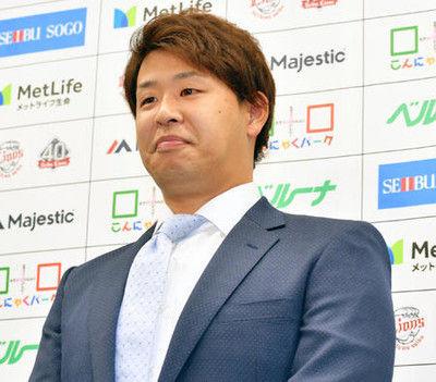 Vチームから最下位へ浅村栄斗、楽天移籍の決め手