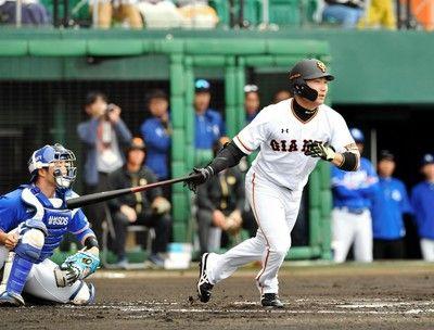 新・巨人打線がいきなり爆発2番丸が先制二塁打&ビヤ2点二塁打原監督ニヤリ
