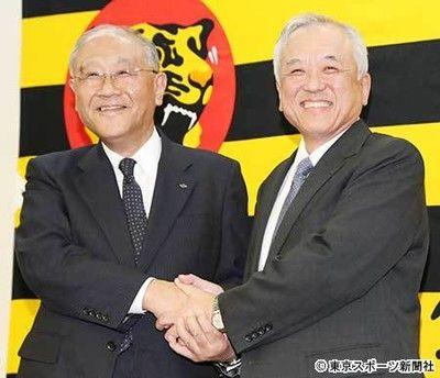 阪神・藤原新オーナー掛布SEAは続投の方針