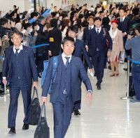 森保ジャパン、準Vのアジア杯から帰国400人が出迎え