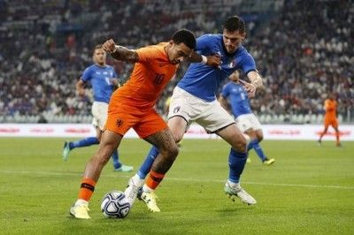W杯出場逃した強豪対決はドロー…イタリア、土壇場でオランダに追いつかれる