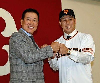 中島宏之の巨人入りが決定背番号は「5」決め手は原監督の言葉「一発、やってやろう」