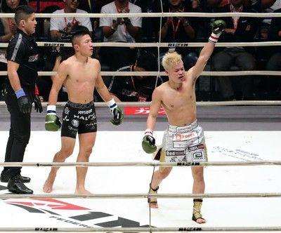 惜敗の堀口恭司は試合後笑顔「那須川君、デカいこと言ってごめんね。強かったね」