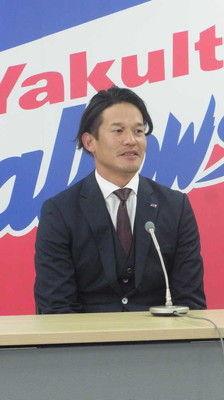 ヤクルト・坂口新たに3年契約結び「感謝」来季年俸1億4000万円プラス出来高