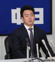 【中日】小笠原、ロング交渉も上積みなく現状維持「開幕投手に照準でパンク」