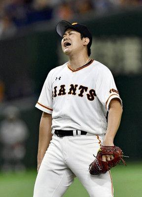 菅野が2被弾、巨人完封負け…三回以降は無安打