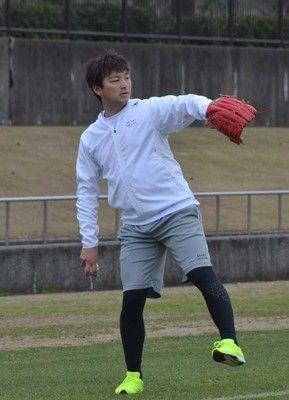 中日・田島守護神再奪取を宣言強い腕の振り意識「今年はやり返せるようにしたい」