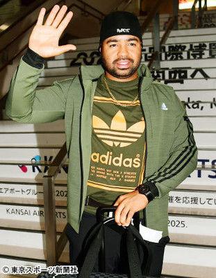 阪神・ロサリオ残留を熱望して帰国「来年は必ずやってやるという気持ちだ」