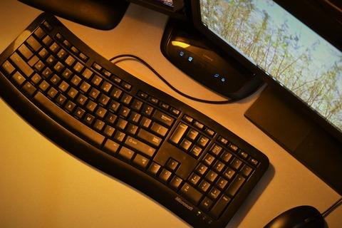 ワイ、結局マウスもキーボードも有線に変えてしまう